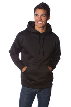 Poly-Tech Pullover Hooded Sweatshirt