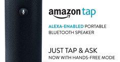Amazon Tap - Alexa-Enabled Portable Bluetooth Speaker $99.99 (Retail $129.99)
