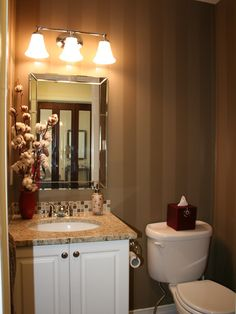 Powder Room Design, Pictures, Remodel, Decor and Ideas - page 27