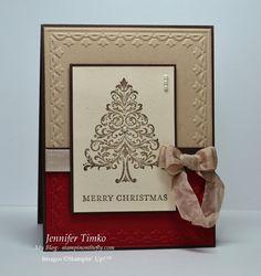 Christmas Tree – Two ways  (Sept 26, 201)
