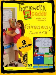 The Homework Caddy Giveaway