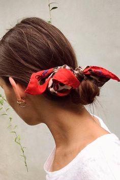 peinados pinterest para primavera panoleta roja | Galería de fotos 5 de 80 | StyleLovely