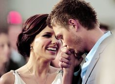 Brooke and Lucas - I loved them as a couple but he just wasn't good enough for her! (One Tree Hill)