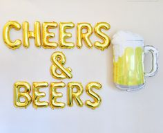 LOVE CHEERS & BEERS Balloons Cheers and Beers Cheers and Beers