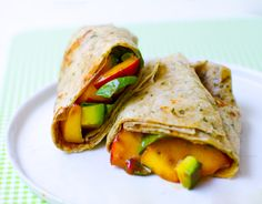 Peach Basil Avocado Balsamic Wraps combine all of our favorite seasonal flavors into one perfect handheld treat.