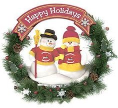 NCAA Snowman Christmas Wreath NCAA Team: Louisville by SC Sports. $34.99. Two snowmen dressed in official NFL team colors. Officially licensed. Accented with pine cones and holly berries. 20 inches in size. 04133 NCAA Team: Louisville Color/Finish: -Official NCAA team colors and logo. Specifications: -Dimensions : 20 H x 20 W.. Save 50% Off!
