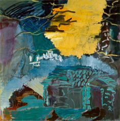 Tilbageblik I, 1986 Linda Pace Foundation © Per Kirkeby, Courtesy Galerie Michael Werner Berlin, Cologne & New York