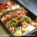 Gratinado de verduras | #Recetas de cocina | #Veganas - Vegetarianas ecoagricultor.com