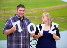 Groom goofing off during a spring engagement session at the Taber Ranch | by Christopher Armstrong Photography