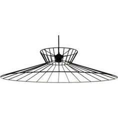 Suspension Design Othilie métal noir 1 x 60 W METROPOLIGHT | Leroy Merlin