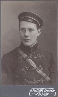 Schmidt, Captain Hat, Fraternity, Leipzig, Cards