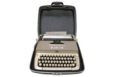 Smith Corona Typewriter w/ Case
