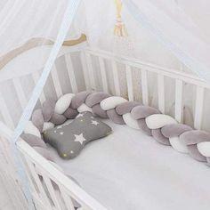 Nouveau beau mélange coton noir avec rose lit bébé lit bébé ou Butterflys Cotbed set.