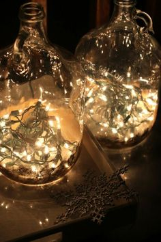 DIY: Bottles Full of Light by mourmoura