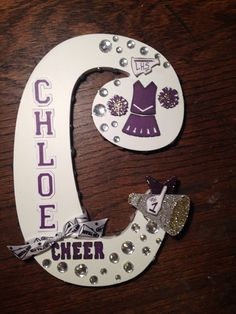 Cheerleading letter- FOR HOMECOMING FOOTBALL WOOD SIGNS