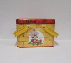 Vintage Strawberry Shortcake Doll Metal Pail 1980 by retrogal415