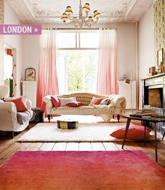 Urban Cottage Girl Living Room