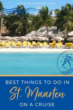 The Best Things to Do in St. Maarten on a Cruise in 2021! This is a popular stop for many cruise line ships for great reason! If your cruise is planning a stop at St. Maarten in the Eastern Caribbean here is your guide to all the best things to do that you've been waiting for! Plan out all of your ship excursions here and make the most out of your stop in St. Maarten! The best tours, the best shopping on the island, water sports and where to go to find at popular cafes and gorgeous scenery!
