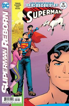The new Superman Reborn crossover began this week & its epic! The mysteries or D.C. Rebirth & pre-Flashpoint DCU begin to unfold here!!