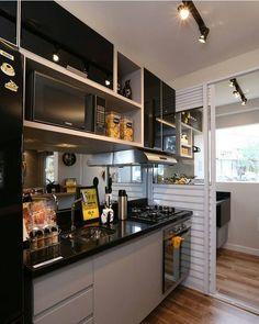 """25 curtidas, 1 comentários - @meuape1307 no Instagram: """"Sem palavras para explicar o quanto gosteu dessa cozinha 😍😍😍 #cozinhaplanejada #aptodecorado…"""""""