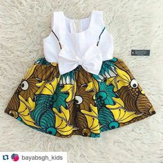 Lovely dress for kids,  made with #gtpnustyle. by @bayabsgh_kids