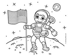 astronaut printables astronaut coloring page girl in astronaut suit 321 blastoff into. Black Bedroom Furniture Sets. Home Design Ideas