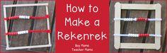 Teacher Mama: How to Make a Rekenrek {After School Linky}