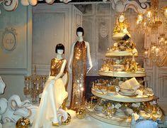 Dior 2012 Printemps Christmas Window Display in Paris France by Rolye, via Flickr