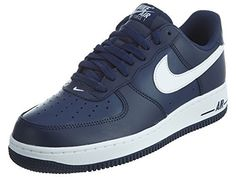 competitive price 05008 1ceee Nike Mens Air Force 1 MIDNIGHT NAVYWHITEMID NAVY 14 M US    Visit the image