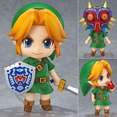 The Legend of Zelda Link Majora's 3D Mask Ver.Nendoroid 553 PVC Action Figure