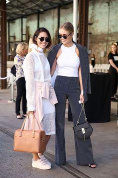 Street-Style Mercedes-Benz Fashion Week Australia - GLAMOUR