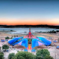 Boom festival 2012, Portugal. Stage by the Do Lab