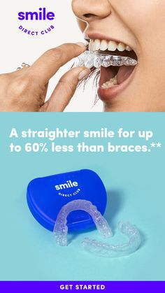 Visit a SmileShop near you and get your free image to start your smile journey. Straighten your smile with clear aligners from SmileDirectClub for 60 less than braces and faster treatment time. Get Whiter Teeth, Eye Makeup, Clear Aligners, Smile Teeth, Ballerina Nails, Kourtney Kardashian, Teeth Whitening, Straightener, Life Hacks