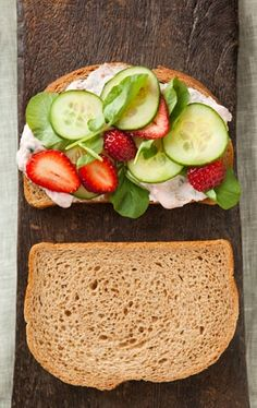 Perfect for brunch or afternoon tea, these cucumber sandwiches come together in a flash. When summer fruits are at their sweetest, peaches make a worthy substitution for the strawberries in this recipe.