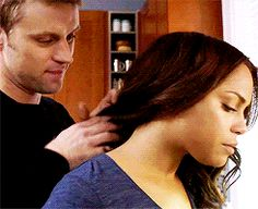 Jesse spencer y monica raymund