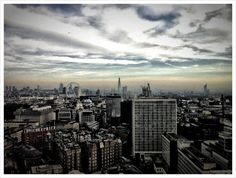 London - my best photo of this fab place. From floor of Portland House. Portland House, London City, Hdr, New York Skyline, Cool Photos, Travel Tips, I Am Awesome, Explore, Places