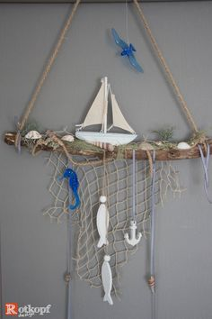 Driftwood Crafts, Seashell Crafts, Beach Crafts, Summer Crafts, Diy And Crafts, Decor Crafts, Rustic Games, Deco Marine, Romantic Home Decor