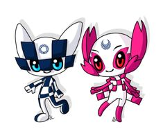 Tokyo 2020 summer olympics Mascots by anineko on DeviantArt - Welcome to our website, We hope you are satisfied with the content we offer. If there is a problem - Winter Olympics 2020, Winter Olympic Games, Tokyo Olympics, Olympic Logo, Olympic Mascots, Olympic Gymnastics, Olympic Sports, Olympic Idea, Tokyo 2020