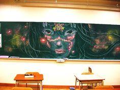 黒板アートもどき2
