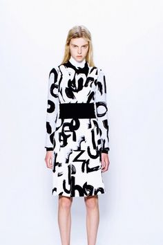 Proenza Schouler Pre-Fall 2013 Collection Photos - Vogue