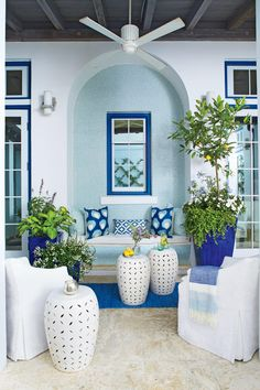 Tiny Porches and Patios That Are Giving Us Major Inspiration | A little goes a long way. While we love the look and feel of spacious porches, 500-plus square feet isn't a prerequisite for a true Southern porch. These little stunners will make the case for living small and loving every square inch of your space.