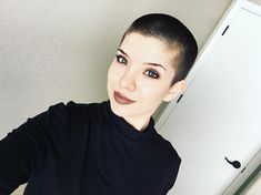 Pin for Later: 20 Fierce Ladies Who Have Embraced the Buzz Cut More