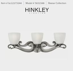 Hinkley Lighting 56323 Bathroom Light - Build.com