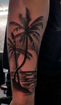 Top Best Sleeve Tattoo Design Ideas for 2019 Part ; sleeve tattoos for men; sleeve tattoos for women; sleeve tattoos with meaning Girls With Sleeve Tattoos, Tattoos For Women Small, Girl Tattoos, Tattoos For Guys, Tree Tattoo Designs, Tattoo Sleeve Designs, Tree Sleeve Tattoo, Sunset Tattoos, Forearm Tattoo Men