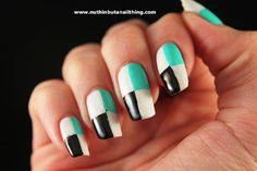 sellotape nails tutorial