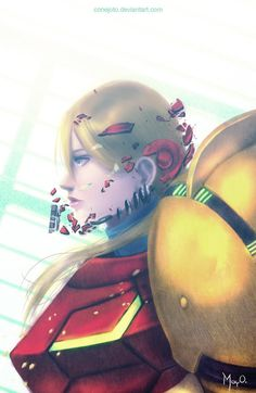 Samus by CONEJOTO on DeviantArt