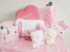 KawaiiBox.com ❤ The Cutest Subscription Box — skelekuto:   My Pokemon plushies came in today ^^...