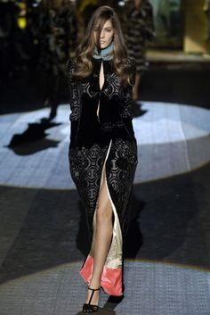 Fall/Winter 2006 Ready-to-Wear Milan Roberto Cavalli 로베르토 카발리 + Daria Werbowy 다리아...