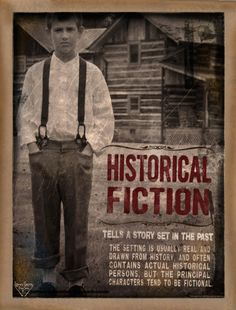 Historical Fiction Literary Genre by Jeanne Stevenson Recount Writing, Genre Posters, Genre Study, Literary Genre, Classroom Posters, Classroom Ideas, Story Setting, Library Displays, Historical Fiction
