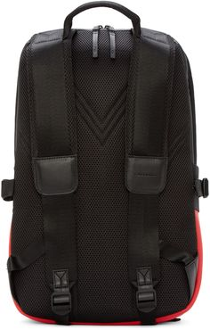 Y-3 Black & Red Day II Backpack